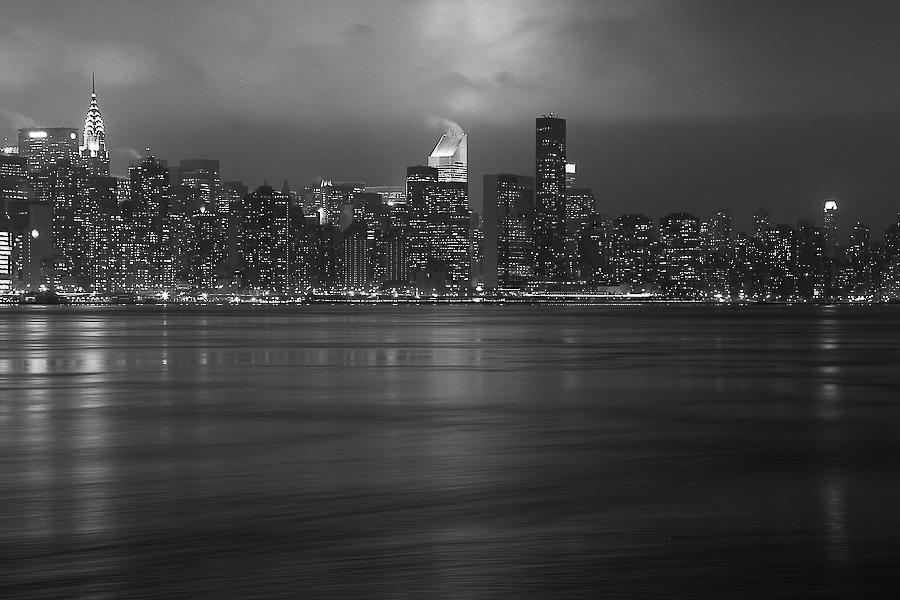 USA, New York, skyline depuis Brooklyn, novembre 2010