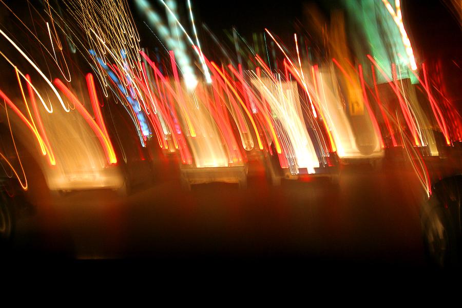 Liban, frénésie sur l'autoroute, janvier 2009