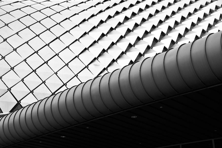 Singapour, toit de l'opéra, juillet 2009