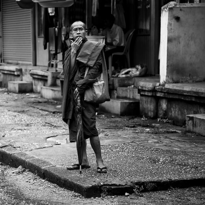 Birmanie, Yangoon, juillet 2009