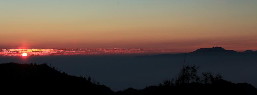 Indonésie, Java, Bromo au lever du soleil, août 2009