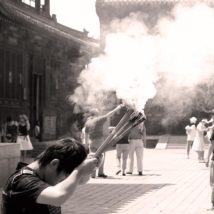 Chine, Beijing, palais du ciel, mai 2007