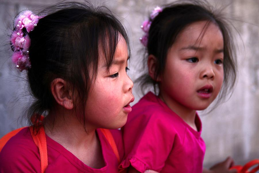 Chine, Beijing, les jumelles, mai 2007