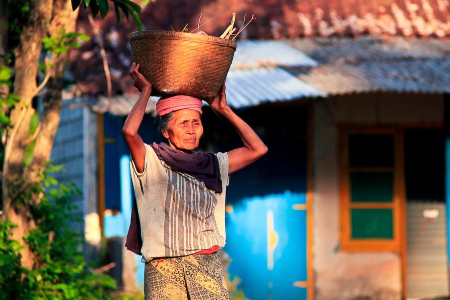 Indonésie, Bali, région d'Amed, août 2009