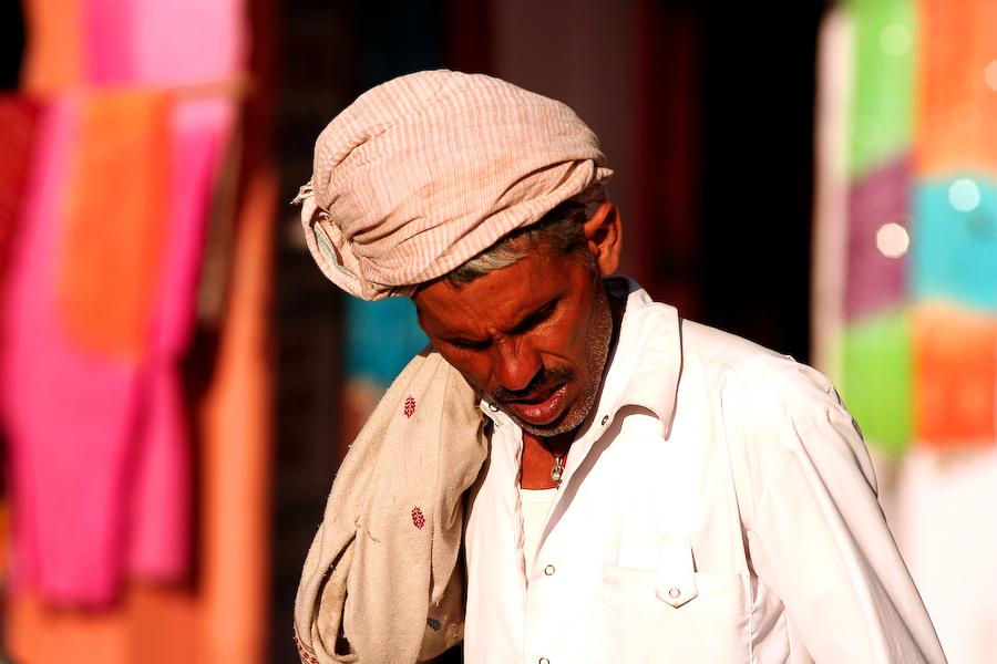 Inde, Rajasthan, Jaipur, portrait, février 2008
