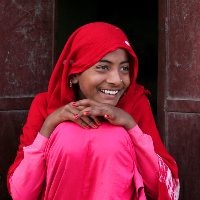Inde, Rajasthan, Mandawa, portrait, février 2008