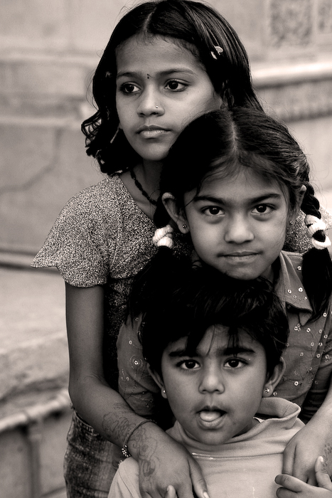 Inde, Jaisalmer, portraits,