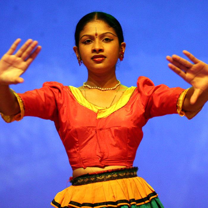 Sri Lanka, danseuse à Candy, août 2006