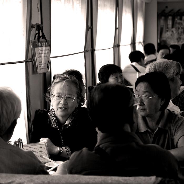 Chine, dans le train entre Beijing et Huangshan, mai 2007