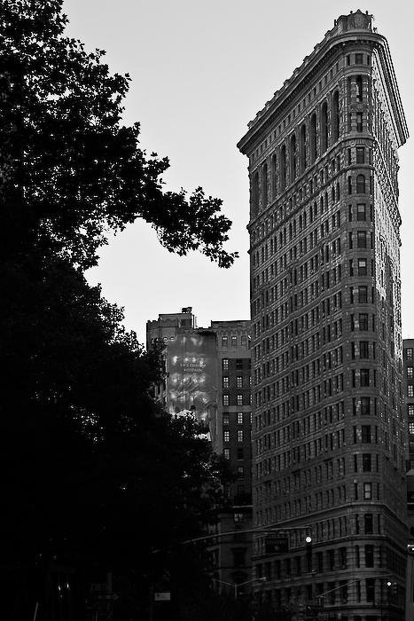 USA, New York, Flat Iron, novembre 2010