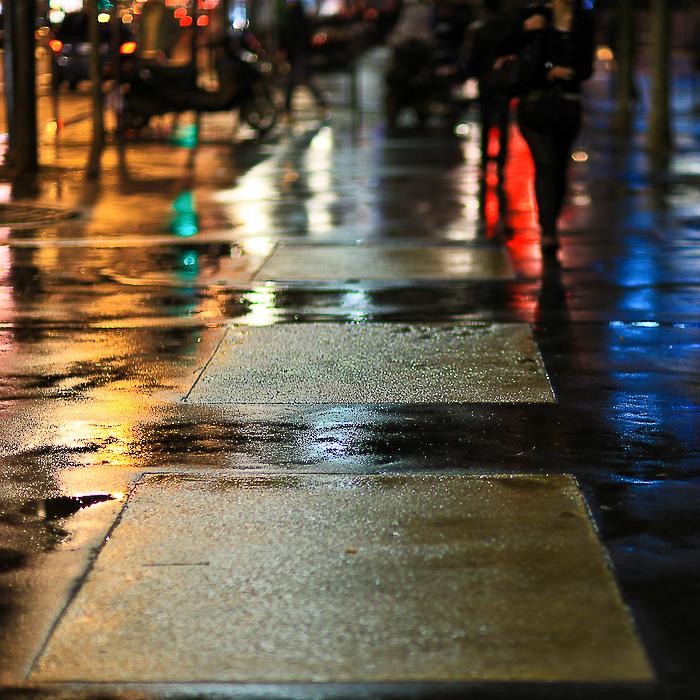 Paris, la nuit, la pluie … l'hiver !!! #4