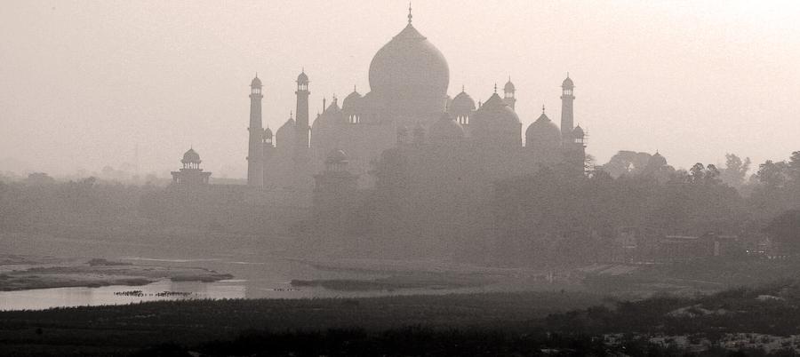 Inde, Agra, Taj Mahal, février 2008