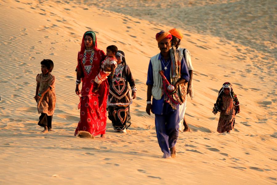 Inde, Rajasthan, mars 2008