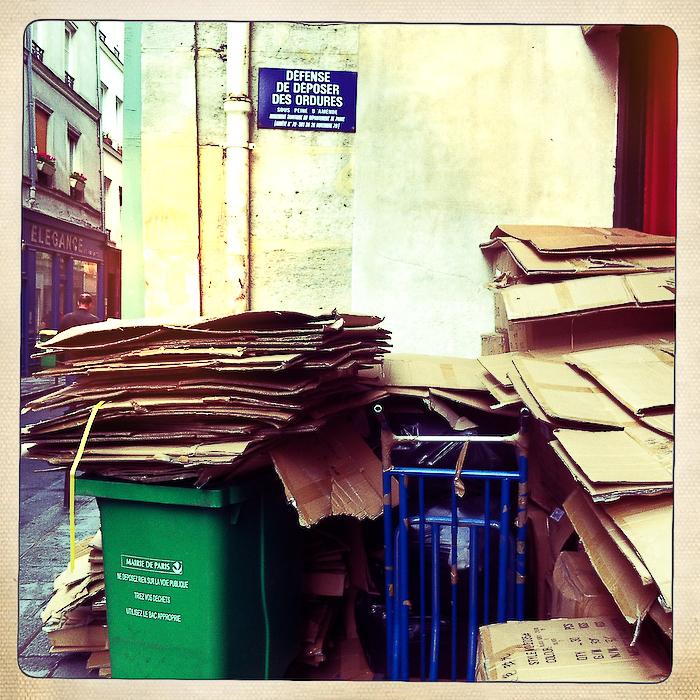 Défense de déposer les ordures